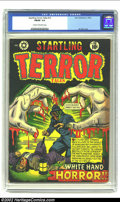 Golden Age (1938-1955):Horror, Startling Terror Tales #12 (Star Publications, 1952) CGC FN/VF 7.0Cream to off-white pages. Classic L. B. Cole horror cover...