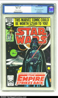 """Modern Age (1980-Present):Science Fiction, Star Wars #39 (Marvel, 1980) CGC NM+ 9.6 Off-white to white pages.Part 1 of """"The Empire Strikes Back"""" movie adaptation. Al ..."""