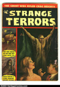 Golden Age (1938-1955):Horror, Strange Terrors #3 (St. John, 1952) Condition: GD/VG. Paintedcover. Kubert art. Overstreet 2002 GD 2.0 value = $40; FN 6.0 ...
