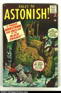 Silver Age (1956-1969):Horror, Tales to Astonish #11 (Marvel, 1960) Condition: VG+. Overstreet2002 GD 2.0 value =$26; FN 6.0 value = $78....