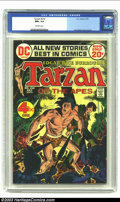 Bronze Age (1970-1979):Miscellaneous, Tarzan #210 (DC, 1972) CGC NM+ 9.6 Off-white pages. Joe Kubertcover and art. The grade here is the highest CGC has given to...