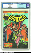 Bronze Age (1970-1979):Horror, Tomb of Dracula #23 (Marvel, 1974) CGC NM 9.4 Off-white pages. GeneColan and Tom Palmer art. Overstreet 2002 NM 9.4 value =...