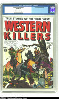 Golden Age (1938-1955):Western, Western Killers #60 (Fox, 1948) CGC FN/VF 7.0 Cream to off-whitepages. Extreme violence, lingerie panel. Overstreet 2002 FN...
