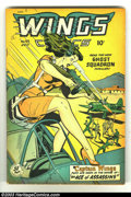 Golden Age (1938-1955):War, Wings Comics #95 (Fiction House, 1948) Condition: FN+. GreatGood-Girl cover in the Fiction House style. Overstreet 2002 FN ...