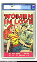 Golden Age (1938-1955):Romance, Women in Love #2 (Fox Features Syndicate, 1949) CGC VG 4.0 Cream tooff-white pages. Jack Kamen and Al Feldstein cover. Over...