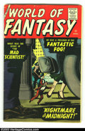 Golden Age (1938-1955):Science Fiction, World Of Fantasy #11 (Atlas, 1958) Condition: VG+. Torres art.Overstreet 2002 GD 2.0 value = $18; FN 6.0 value = $54....