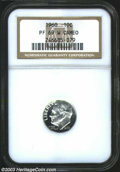 Proof Roosevelt Dimes: , 1960 PR 69 Cameo NGC. ...
