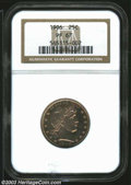 Proof Barber Quarters: , 1906 25C PR67 NGC. Warm apricot-olive iridescence ...