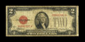 Small Size:Legal Tender Notes, Fr. 1505 $2 1928D Legal Tender Note. Very Good-Fine.. A well circulated but fully intact example of the very scarce non-mule...