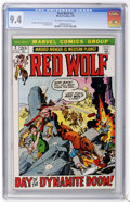 Bronze Age (1970-1979):Western, Red Wolf #2 (Marvel, 1972) CGC NM 9.4 Off-white to white pages....