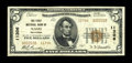 National Bank Notes:Oklahoma, Nash, OK - $5 1929 Ty. 2 The First NB Ch. # 11306. This was the only denomination issued by this bank in both large and ...