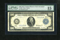 Large Size:Federal Reserve Notes, Fr. 1099 $100 1914 Federal Reserve Note PMG Choice Fine 15. Even margins are noticed on this bright example diffused by a to...