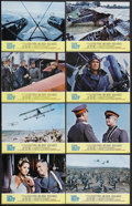 "Movie Posters:War, The Blue Max (20th Century Fox, 1966). Lobby Card Set of 8 (11"" X14""). War. Starring George Peppard, James Mason, Ursula An...(Total: 8 Items)"