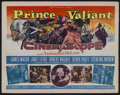 "Movie Posters:Adventure, Prince Valiant (20th Century Fox, 1954). Title Lobby Card (11"" X14""). Adventure. Starring James Mason, Janet Leigh, Robert ..."