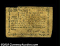 Colonial Notes:Massachusetts, Massachusetts June 18, 1776 3s6d Fine-Very Fine. A nice ...