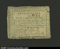"Colonial Notes:North Carolina, August 8, 1778, $5, North Carolina, NC-176, VF. This is the ""..."