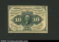 Fractional Currency:First Issue, First Issue 10c, Fr-1243, Choice CU. This is the much scarcer ...
