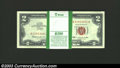 Small Size:Legal Tender Notes, Pack of 100 consecutive 1963 $2 Legal Tender Notes, Fr-1513, ... (100 notes)