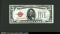 Small Size:Legal Tender Notes, 1928D $5 Legal Tender Note, Fr-1529, Choice-Gem CU. This is a ...