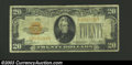 Small Size:Gold Certificates, 1928 $20 Gold Certificate, Fr-2402, Fine....