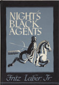 Books:First Editions, Fritz Leiber, Jr. Night's Black Agents. Sauk City: ArkhamHouse, 1947....