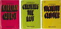 """Books:First Editions, Piers Anthony. """"The Cluster Trilogy"""" First Editions, including: Vicinity Cluster; Chaining the Lady; ... (Total: 3 Items)"""