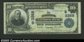 National Bank Notes:Virginia, Norfolk, VA - $10 1902 Plain Back Fr. 624 Norfolk NB ...