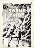 Original Comic Art:Covers, Tom Yeates - The Saga of the Swamp Thing #15 Cover Original Art(DC, 1983). . ...