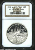 Modern Issues: , 2002-W West Point PR 68 Deep Cameo NGC. ...