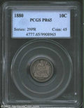 Proof Seated Dimes: , 1880 10C PR65 PCGS. From a technical standpoint, we can ...