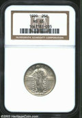Standing Liberty Quarters: , 1920 25C MS65 NGC. A few light contact marks with light ...