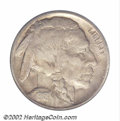 Buffalo Nickels: , 1918/7-D 5C VF Details, Improperly Cleaned NCS. FS-016.5. ...