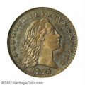 Early Half Dimes, 1795 H10C MS65 NGC. V-8, LM-7, R.6. This very rare ...