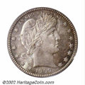 Barber Quarters: , 1909-D 25C MS66 PCGS. The 1909-D is a curious issue in ...