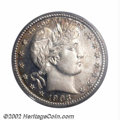 Proof Barber Quarters: , 1903 25C PR66 PCGS. The smooth, sharply defined features ...
