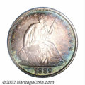 Proof Seated Half Dollars: , 1889 50C PR66 PCGS. Of the 12,711 Half Dollars struck in ...