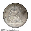 Seated Dollars: , 1859 $1 MS64 PCGS. By studying mintage figures alone, it ...
