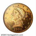 Proof Liberty Half Eagles: , 1900 $5 PR63 PCGS. The 1900 boasts the highest mintage in ...