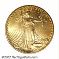 Saint-Gaudens Double Eagles: , 1909 $20 MS64 NGC. The 1909 overdate is a more popular ...