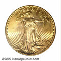 Saint-Gaudens Double Eagles: , 1926-S $20 MS64 PCGS. Among the more carefully produced S-...