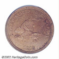 Patterns: , 1858 P1C Flying Eagle Cent, Judd-206, Pollock-242, R.5, ...
