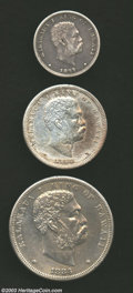 Coins of Hawaii: , 1883 25C Quarter VF30 Cleaned Uncertified, light mauve ...