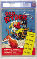 Golden Age (1938-1955):Western, Red Ryder Comics #3 Mile High pedigree (Hawley Publications, 1941)CGC NM 9.4 Off-white pages....