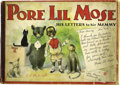 Platinum Age (1897-1937):Miscellaneous, Pore Lil Mose His Letters to His Mammy (Grand Union Tea Co., 1902)Condition: Incomplete....
