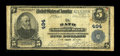 National Bank Notes:Maine, Bath, ME - $5 1902 Plain Back Fr. 598 The Bath NB Ch. # 494.Printed signatures of F.D. Hill and Wm. D. Sewall grace thi...