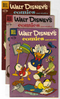 Golden Age (1938-1955):Cartoon Character, Walt Disney's Comics and Stories Group (Dell, 1951-61) Condition:Average VG-.... (Total: 35)