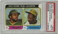Baseball Cards:Singles (1970-Now), 1974 Topps Home Run Leaders R.Jackson/W.Stargell #202 PSA Mint 9. The amazing slugging duo of Willie Stargell and Reggie Jac...
