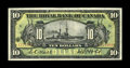 """Canadian Currency: , Montreal, PQ- Royal Bank of Canada $10 Jan. 2, 1913 Ch. 630-12-08.This is a scarce note that is often referred to as the """"O..."""
