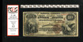 National Bank Notes:Pennsylvania, Elizabethtown, PA - $10 1882 Brown Back Fr. 480 The Elizabethtown NB Ch. # (E)3335. Here is a very tough early note from...