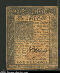 Colonial Notes:Delaware, January 1, 1776, 1s, Delaware, DE-73, Fine-VF. All three ...